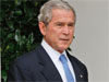 Bush warned that a number of serious issues are still pending and stressed cooperation with Obama. Photo: AP